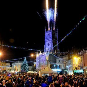 Cirencester Sparkles Advent Festival, Market and Christmas Light Switch On